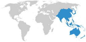 Map asia